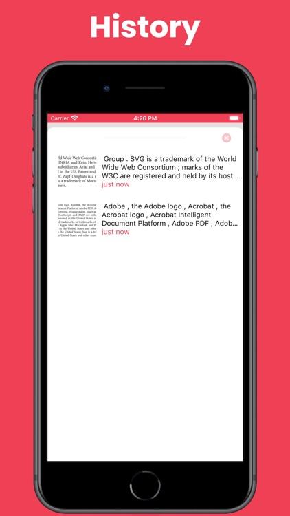 Text Scanner OCR screenshot-3