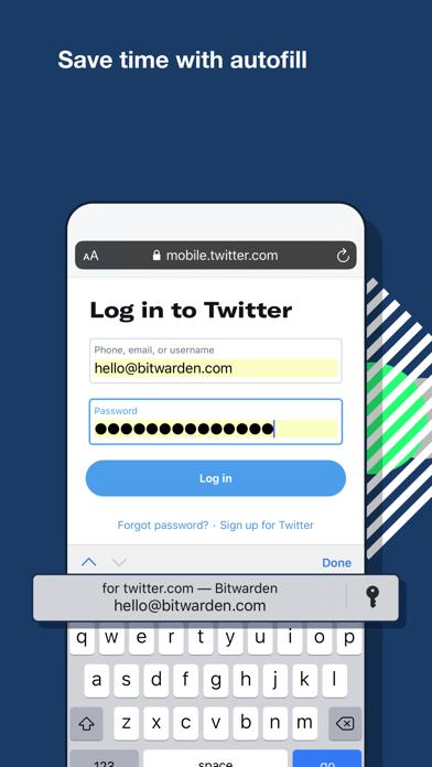 Bitwarden PasswortmanagerScreenshot von 5