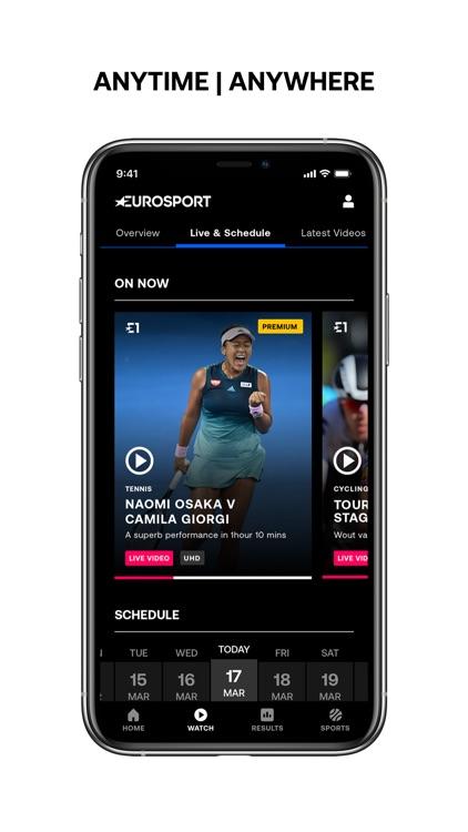 Eurosport: actualidad en vivo screenshot-3