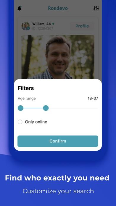 Rondevo - Dating & Chat App Screenshot