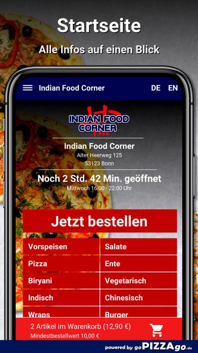 Indian Food Corner Bonn screenshot 2