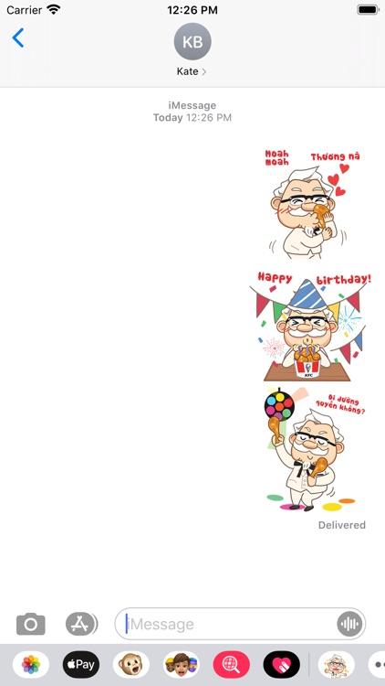 KFC Việt Nam Stickers 2020