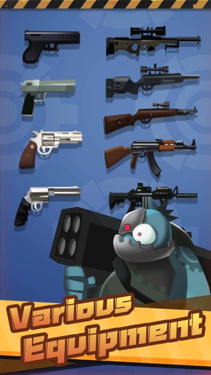 Mr Shooter Legend-Zombie War