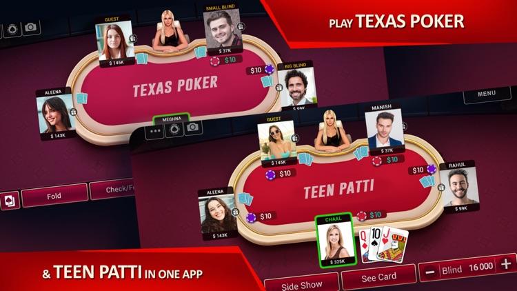 Poker Date - Texas Holdem screenshot-3
