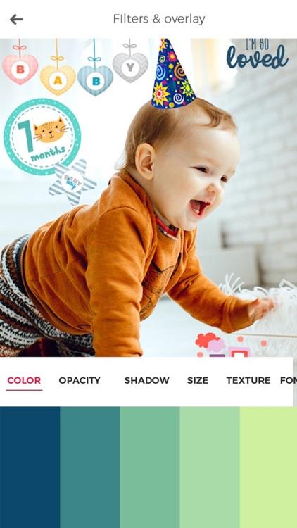 Baby Photo Editor & Baby Story screenshot-7