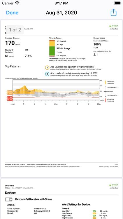 Dexcom CLARITY screenshot-5