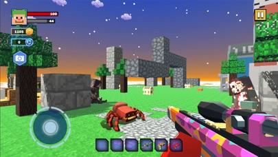 Fire Craft: 3D Pixel World screenshot 1