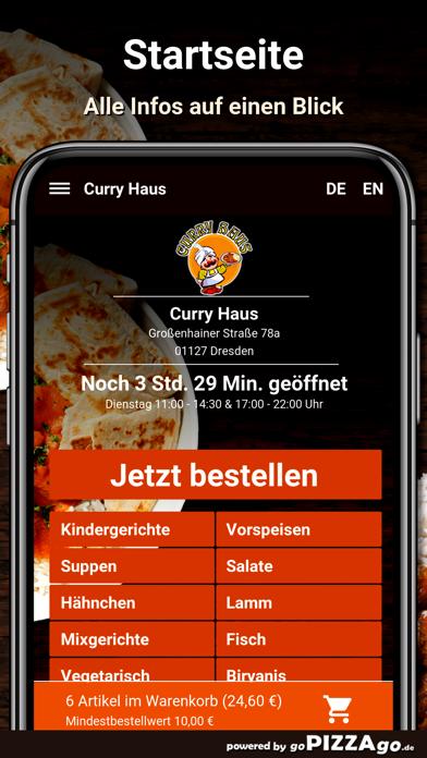 Curry Haus Dresden Pizza screenshot 2