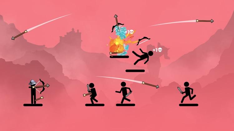 The Archers 2: stick man game screenshot-5