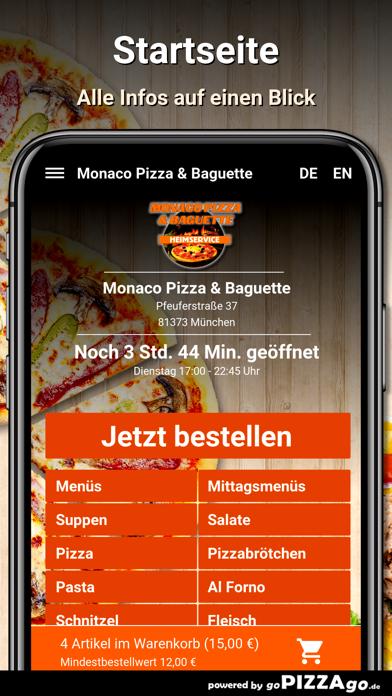 Monaco Pizza München screenshot 2