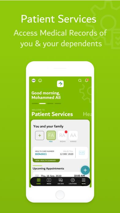 DHA - هيئة الصحة بدبيلقطة شاشة4