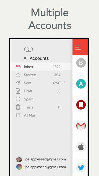 Mail App for Gmail Screenshot