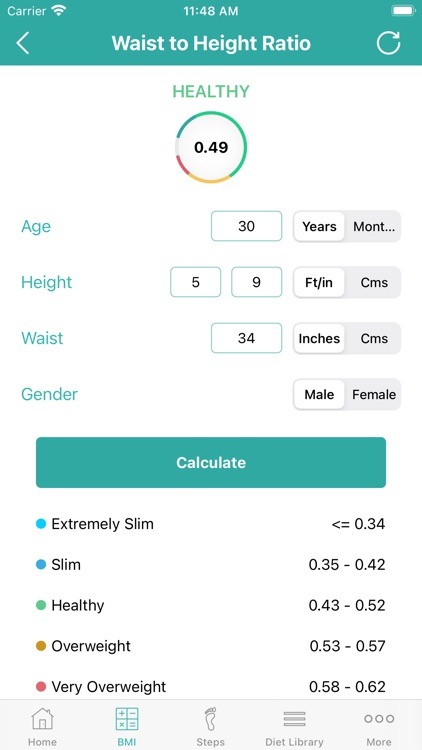 Calorie Counter - Daily Steps screenshot-5