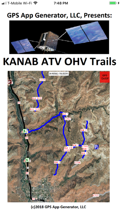 Kanab ATV OHV Trails Screenshot