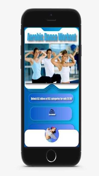 Aerobic Dance Workoutのおすすめ画像1