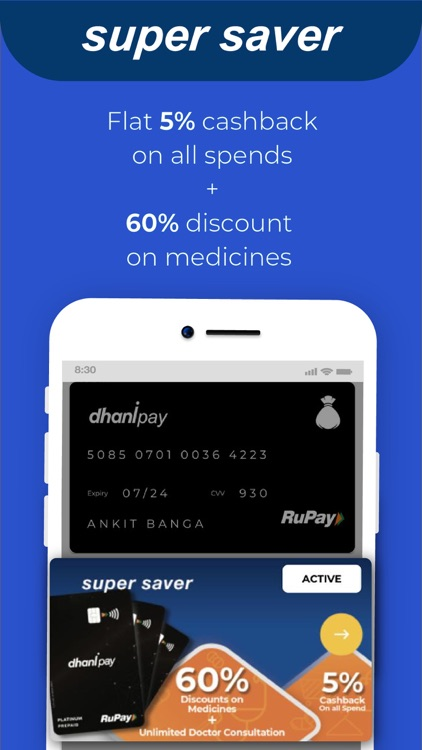 Dhani – Healthcare & Finance screenshot-4