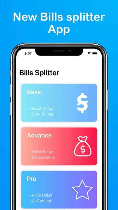 Bills Splitter Widget - budget Screenshots
