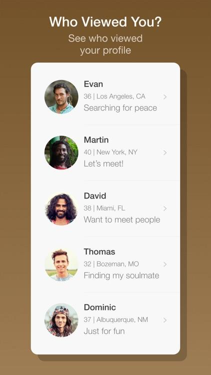Hippie Dates Dating App screenshot-4