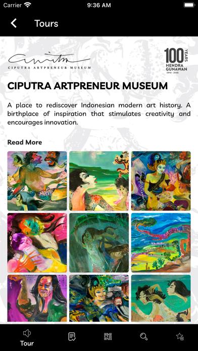 Ciputra Artpreneur Museum Screenshot