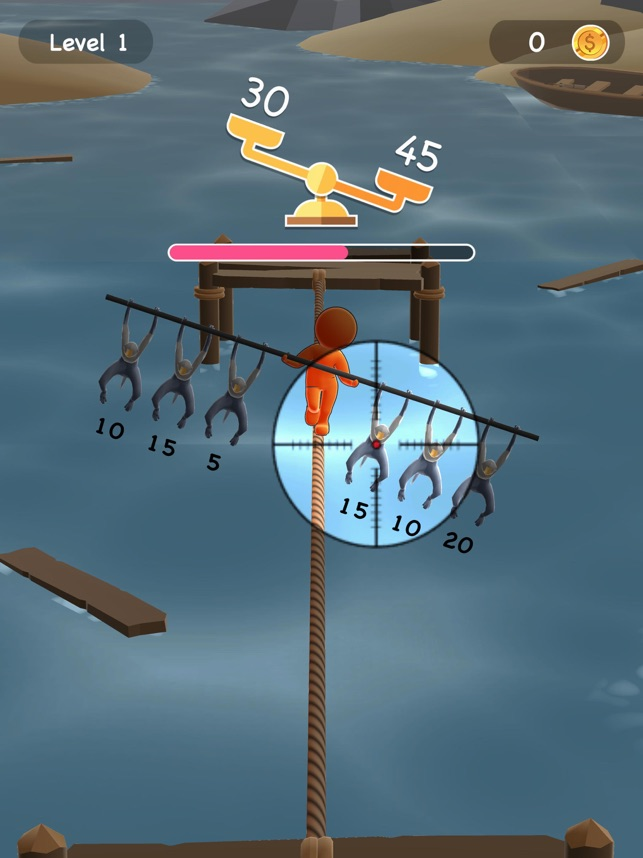 Billy Balance: Sniper, game for IOS