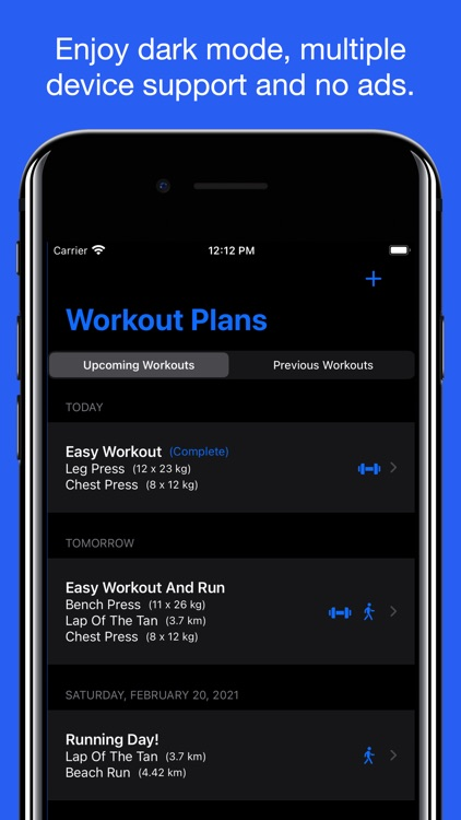 Workout Planner - Exercise screenshot-4
