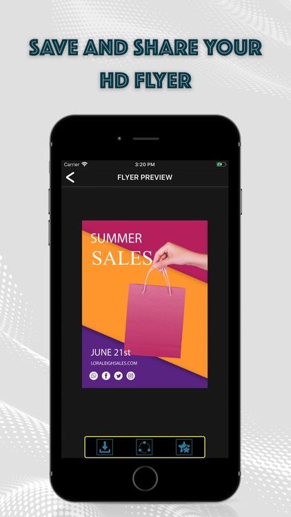 Flyer Maker: Graphic Designer screenshot-5