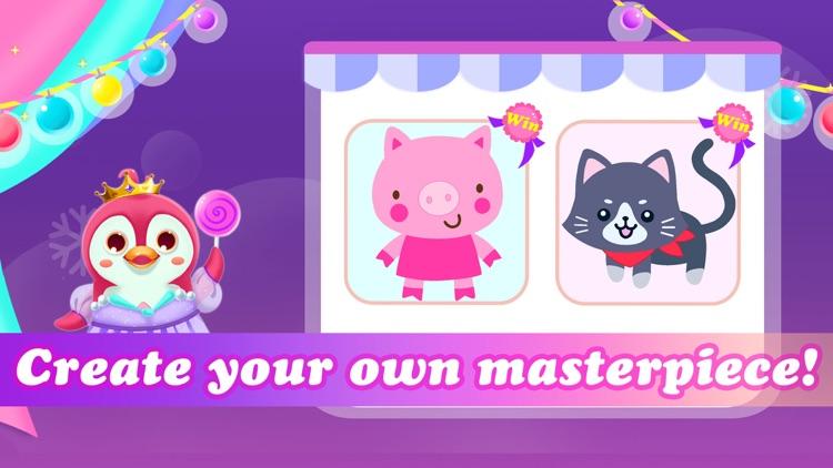 Princess color book for Kids screenshot-5