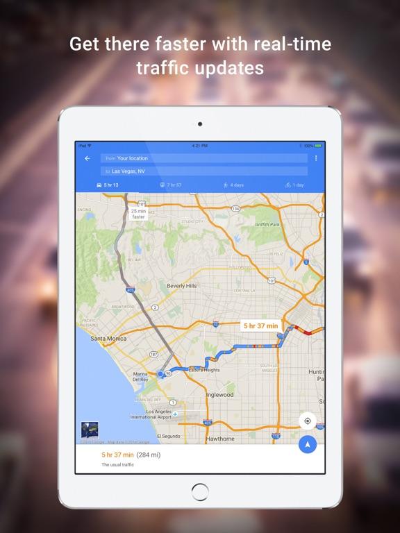 Google Maps - Transit & Food iPad