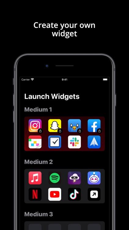 Launch Widgets