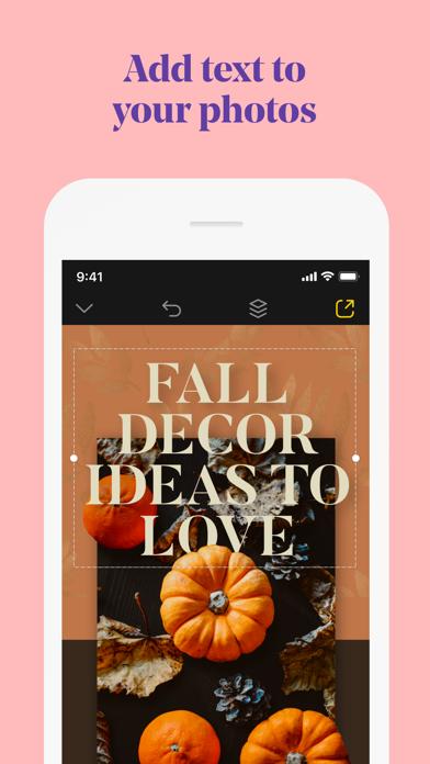 Over: Graphic Design Maker Screenshot