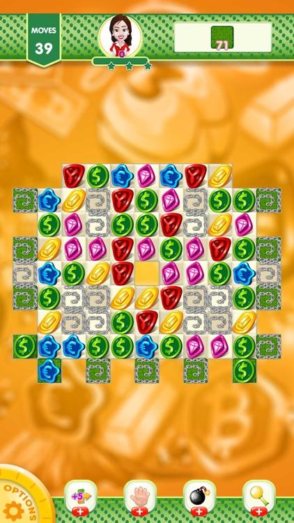 Match 3 Coin Jewel Blast screenshot-8
