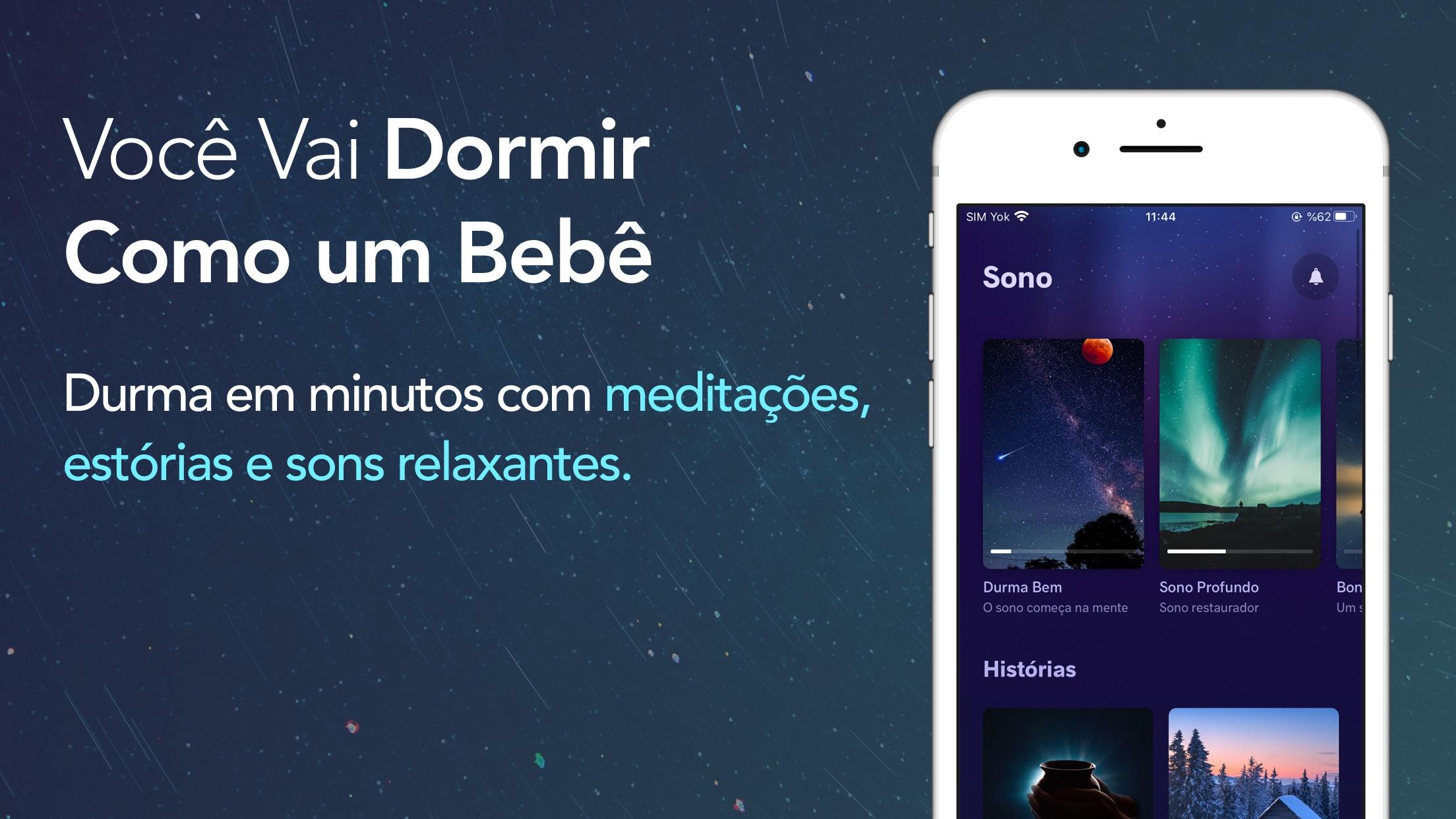 Screenshot do app Meditopia: Meditação, Dormir