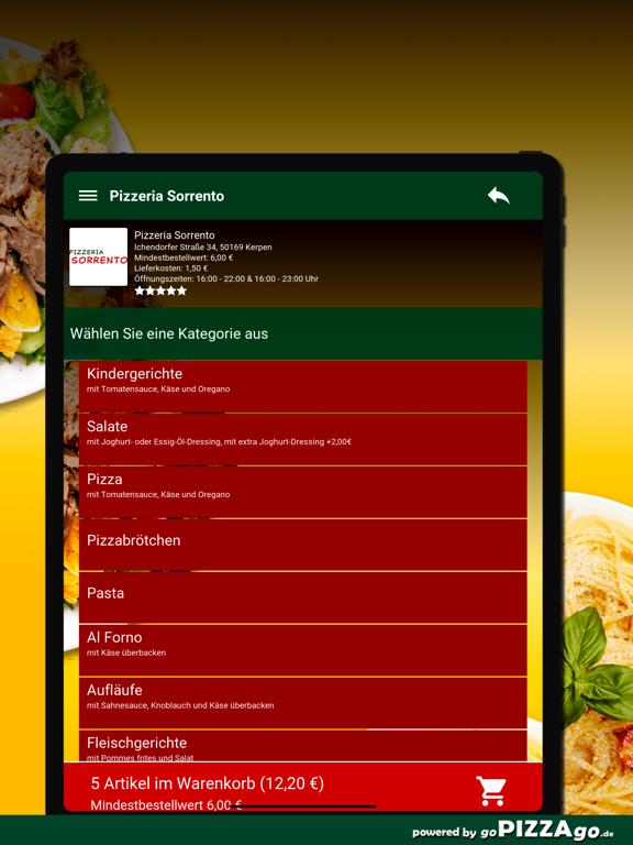Pizzeria Sorrento Kerpen screenshot 8