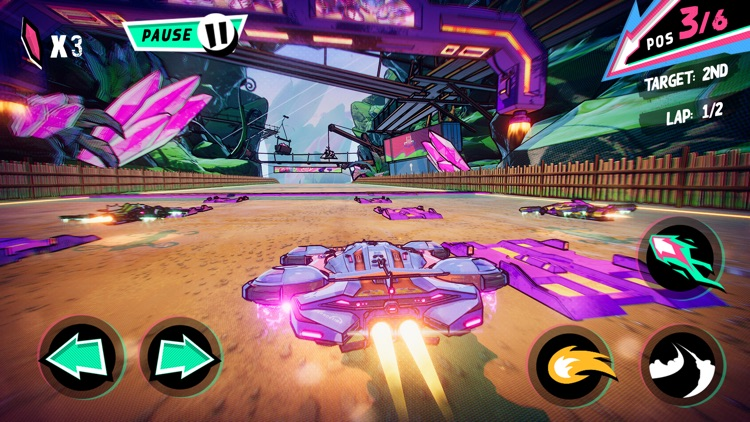 Warp Drive - Teleport Racing! screenshot-1