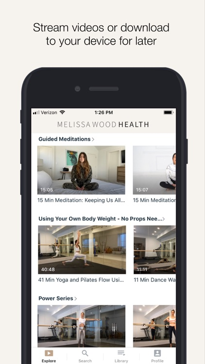 Melissa Wood Health screenshot-3