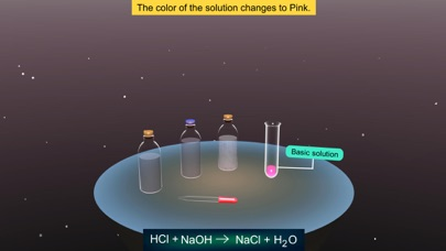 Reaction of Acids with Bases screenshot 6
