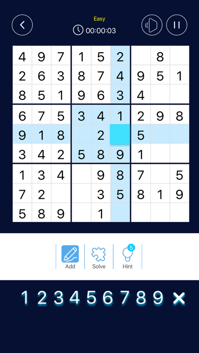 Be Master Sudoku screenshot 2