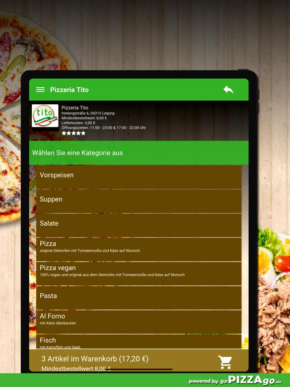 Pizzeria Tito Leipzig screenshot 8