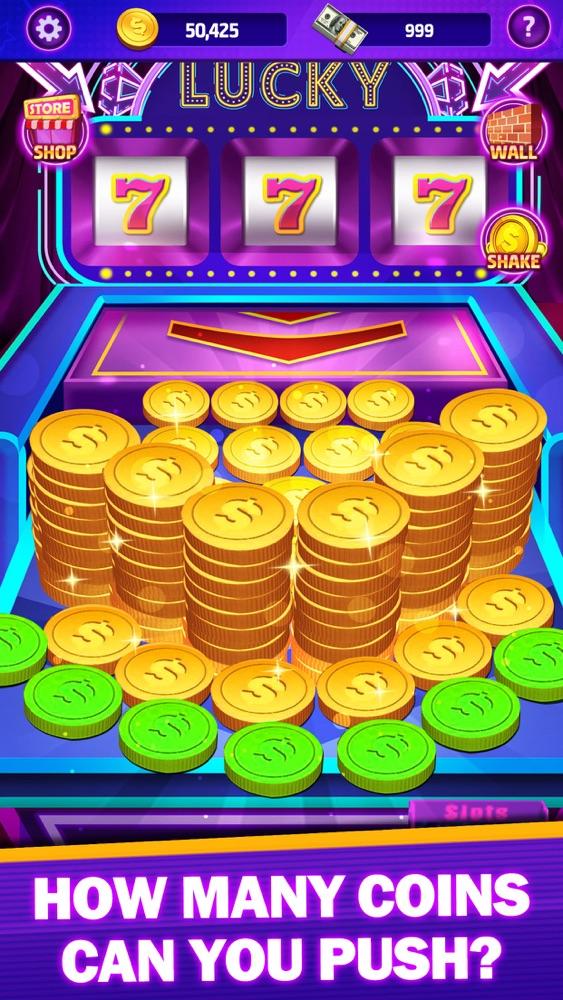 coin pusher big win