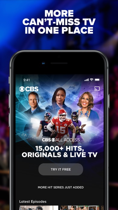 CBS - Full Episodes & Live TV Screenshot