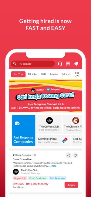 Maukerja Malaysia Job Search On The App Store