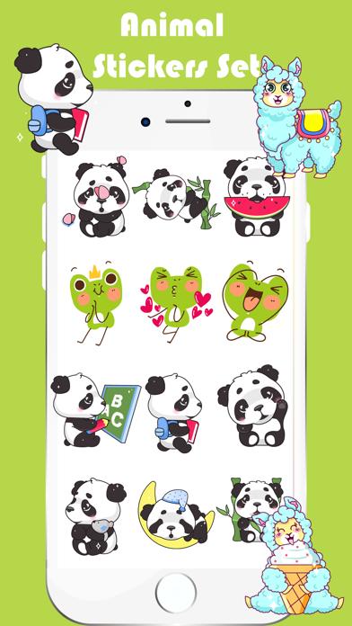 Animal Toon Stickers screenshot 3