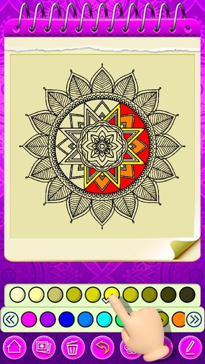 Mandala Coloring 2021 screenshot-6