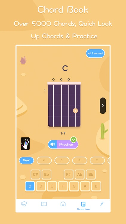 Guitar ukulele tuner & tabs screenshot-7