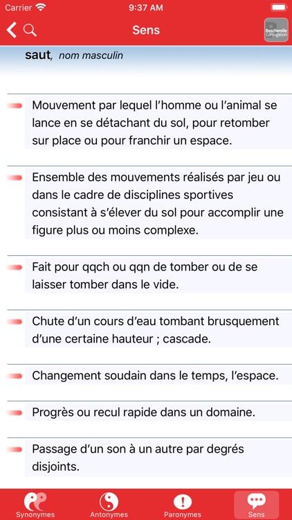Bescherelle Synonymes screenshot-5