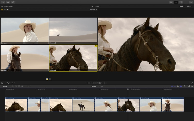 视频制作 Final Cut Pro for Mac