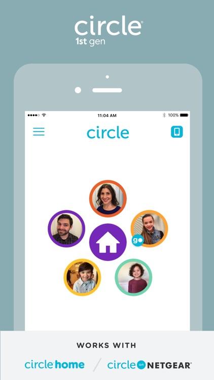 Circle 1st generation screenshot-0