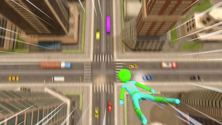 Stickman Spider Rope Hero Game