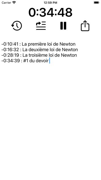 Timenote - study organizer screenshot 7