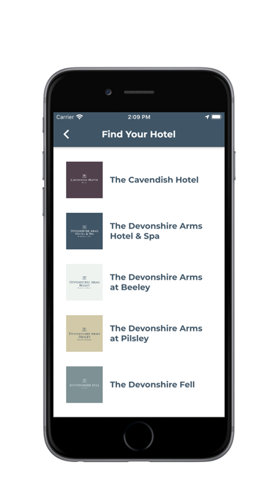 Devonshire Hotels screenshot 1